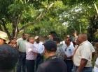 Moradores protestaron por el desplome del servicio energético.
