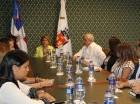 La Comisión para la Movilidad Saludable del ADN se reunió ayer.