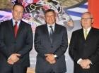 Tony Tarrazo, Orlando Carbo Conte y José Antonio Tarrazo.