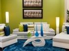 Los colores juegan un papel fundamental  a la hora de refrescar el hogar.
