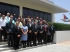 Parte de los inspectores del IDAC graduados en el curso.