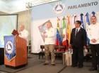 Juan Cohen da la bienvenida a los presentes en el Foro de Turismo.