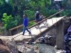 Comunitarios esperan puente le prometió Obras Públicas.