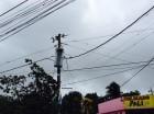 Avería energética en Cancino Adentro mantiene apagón. (imagen cortesía de @darwinfelizM)