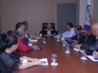 Reunión del Comité de Contingencia de Edesur, encabezada por Rubén Montás.
