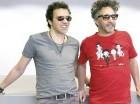 """Páez y Moska presentaron su primer álbum juntos, """"Locura total""""."""