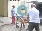 Cuerpo de Batatica en la morgue.