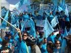 Movimiento Mujeres Unidas con Danilo, (MUD), durante la proclamación como candidato presidencial.