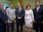 José Veras, José Álvarez, Enrique Ramírez Paniagua, Norma Núñez de Álvarez y Manuel Morales.