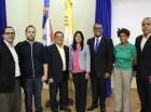 Ibert Roca, Omar Rivera, Manuel Ramón Peña Conce, Luisa Castillo, Libio Encarnación, Shefrany Núñez y Gustavo de los Santos.