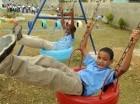Este nuevo parque permitirá a los pequeños de Aldeas S.O.S disfrutar en un espacio recreativo, seguro y sano.
