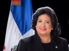 La presidenta del Senado, Cristina Lizardo.