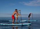 Paddel es un deporte acuático que se basa en el deslizamiento sobre las aguas.