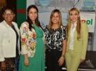 Dolores Mejía de la Cruz, Patricia González, Carmen Dujarric y Nalini Campillo.