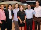 Santiago Rodríguez, Masato Hiramitsu, Daniel Shin, Danilsa Polanco, Thomas Rodríguez y Nelson Ortega.