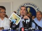 El candidato presidencial del PRM dice que de 166 visitas sorpresa al Sur, únicamente ha cumplido en 18 lugares y que ha suplantado la estructura institucional agropecuaria.