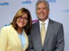 Miguelina Veras e Israel Vargas.