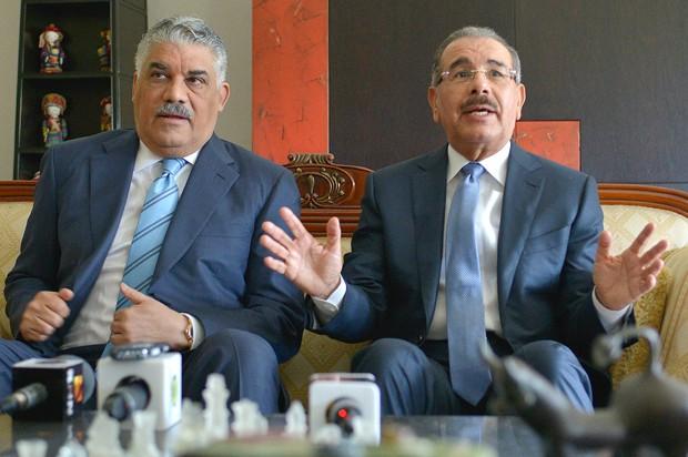 Danilo Medina y Miguel Vargas Maldonado anunciarán el alcance del pacto PLD-PRD.