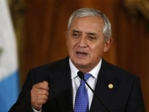 Otto Pérez Molina.