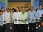 El presidente Danilo Medina hizo  realiza el corte de cinta.