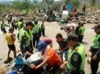 Mil 100 colombianos han sido repatriados por Venezuela.