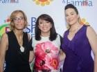 Vilma Cabrera, Lisbeth Cabrera y Michaela Arriaza.