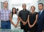 Ignacio Isidor, Nilke de la Rosa, Naikel Báez, María  Álvarez de Ramírez y Óliver Ramírez Alcántara.