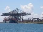 El Multimodal Caucedo es una terminal marítima y zona franca ubicada en Punta Caucedo que inició sus operaciones en 2003.
