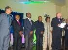 El presidente del Comité Ejecutivo de Acroarte, Jorge Ramos, encabezó la juramentación de la filial de NY.