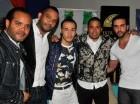 Alberto Zayas, Raúl Suncar, David Francisco, Vladimir Dotel y Aneudy Pimentel ofrecieron detalles del concierto.