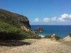 El Morro de Montecristi es el más alto promontorio costero-marino de la isla, con una altura máxima de 242 metros.