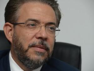Guillermo Moreno, candidato presidencial de Alianza País.
