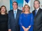 Jeanis de García, Francisco Javier García, Rosa Hernández de Grullón y Manuel A. Grullón.