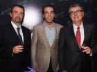 Claudio R. Álvarez, José Manuel González y Claudio I. Álvarez.
