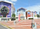 La Plaza de la Cultura de Bonao es el legado del Maestro Cándido Bidó a su pueblo.