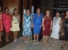Rosa Arredondo, Gisela Mera, Giselle Castro, Yakayra Suero, Ivelisse Villegas, Yosarah Fernández, Jacqueline Ramos y Wanda Sánchez.