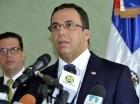 Andrés Navarro habló luego del acto de despedida del embajador chino.