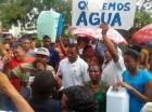 Varias comunidades han protestado en demanda de un mejor servicio de agua.