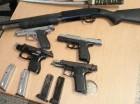 Pistolas y escopeta ocupadas a hombre que las alquilaba.