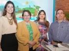 María More, Vicky Malla, Natacha Quiterio y Leonardo Pérez.