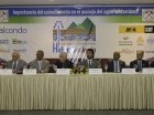 Panelistas del Congreso Internacional de Hidrogeología.