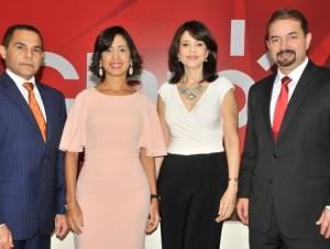 José Ovalle, Sandra Tejeda, Gerty Valerio y Oscar Peña.