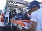 La joven fue atendida por unidades del Sistema de Emergencias 9-1-1.