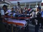 La herida fue identificada como Angeli de los Santos.
