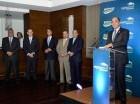 Enrique Ramírez Paniagua explica las facilidades de Expomóvil 2015.