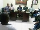 Reunión de las principales autoridades de Dajabón.
