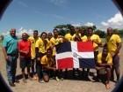 Equipo de la República Dominicana que ganó la Copa Quisqueya de Rugby.