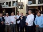 Danilo Medina se reunió con los empresarios locales.