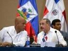 Danilo Medina y Michell Martelly en un encuentro anterior.