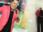 El presentador Frederick Martínez, El Pachá.